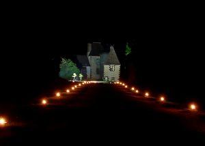 Illumination extérieure à la Seigneurie d'Alleray