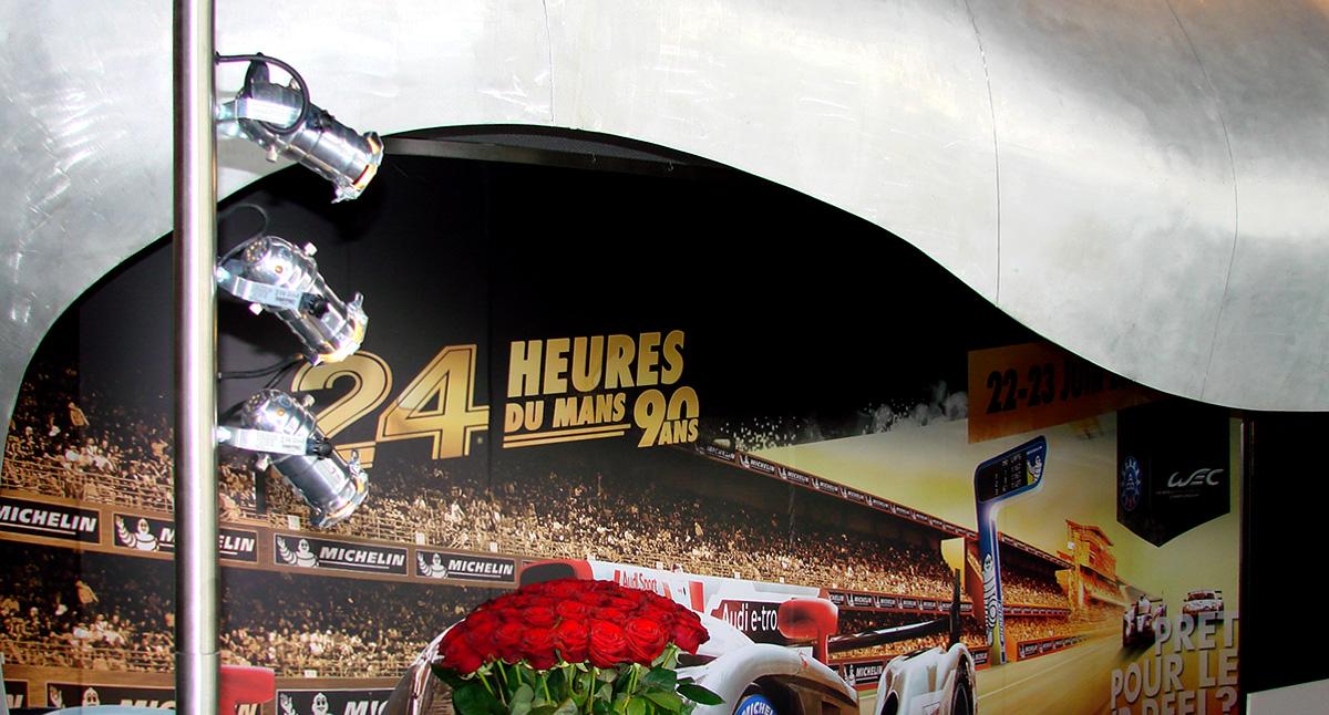 Eclairage buffet soirée de clôture des 24 Heures du Mans