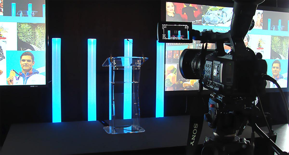 Captation et retransmission en direct des interventions de la conférence d'Unilever organisée par HRG