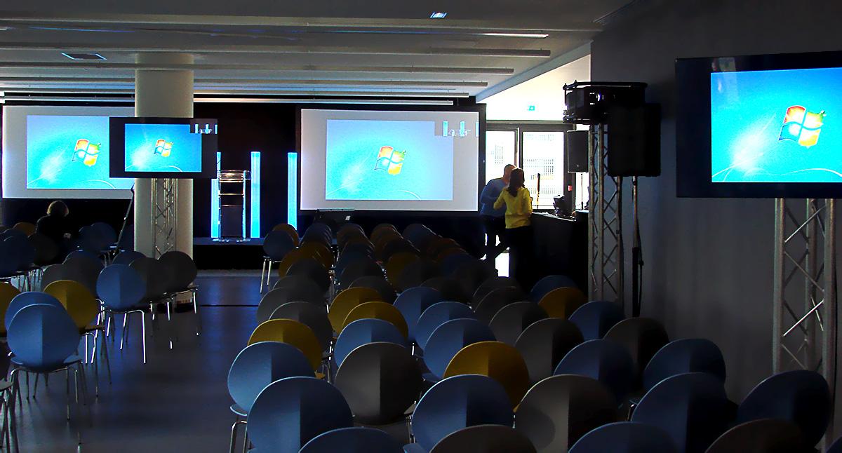 Prestation technique pour la conférence d'Unilever organisée par HRG
