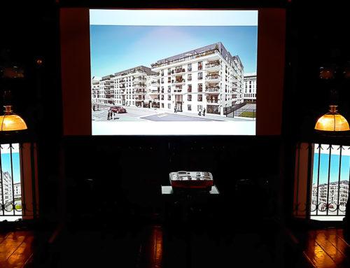 Présentation commerciale du nouveau projet immobilier Franco Suisse